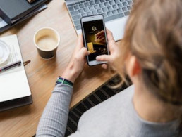 Case Study - JDE L'OR - shopper network widget - Display mobile Advertisement