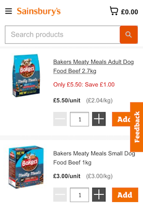 Case Study - Purina Bakers - Shopper Network solution - display advertisment