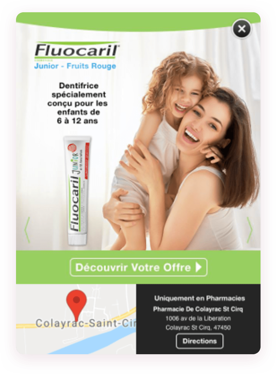 Shopper Network, solution de publicité display ultra cibée sur Mobile