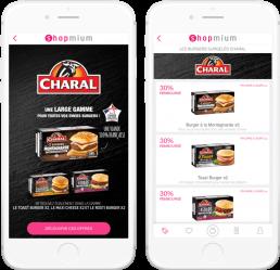 Charal couponing Shopmium