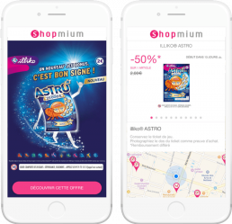 FDJ couponing Shopmium