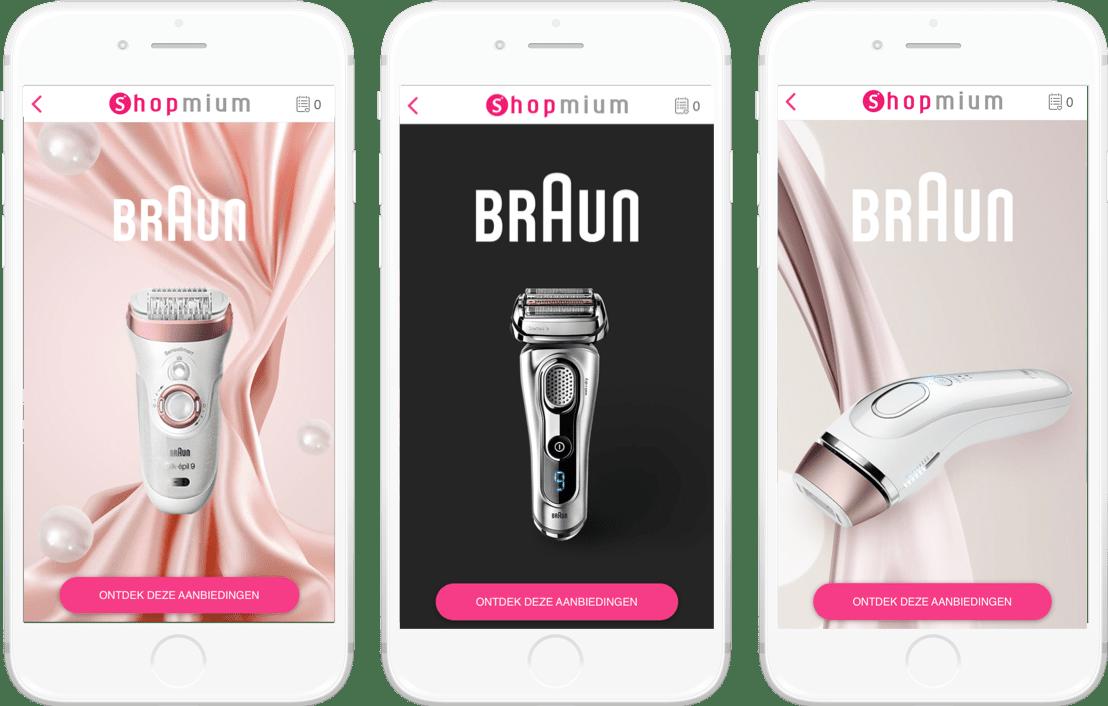 Braun Shopmium campaign