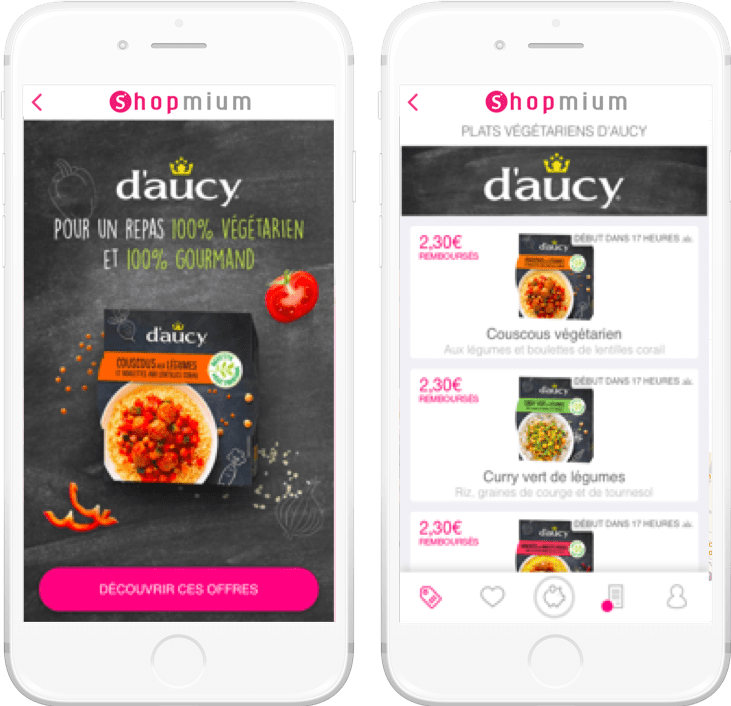 D'Aucy Shopmium campagne