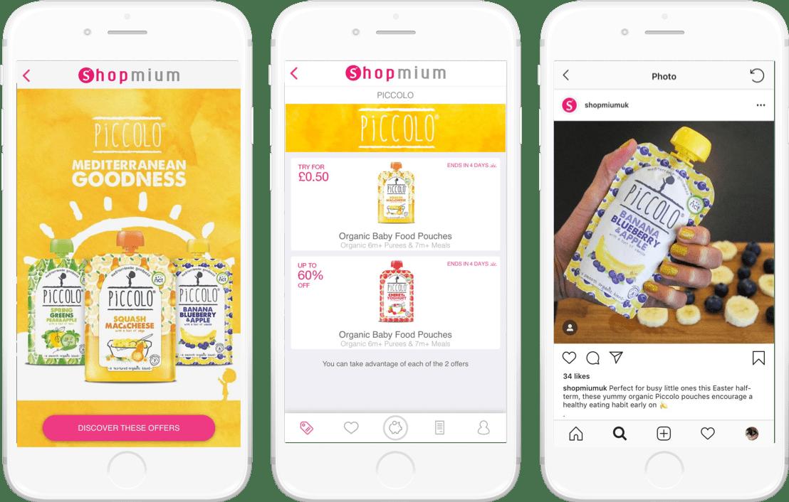 Piccolo Shopmium campaign