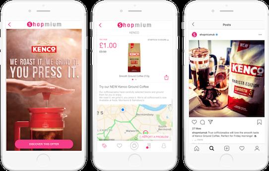 Kenco shopmium mobile app